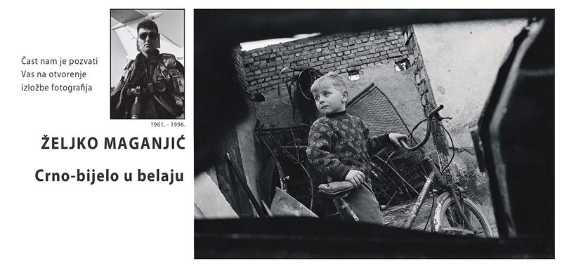 Željko Maganjić, crno bijelo u belaju