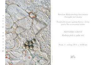 Međunarodnog dana i Europske noći muzeja Nevenka Gritz