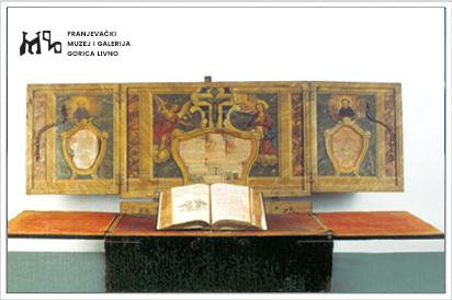 Razglednica sakralna zbirka - Prijenosni oltar